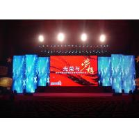 China Full Color SMD P4 Indoor Led Display Panel Good Sense Of Sight To Show The Images on sale