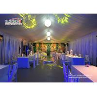 Quality 25x60m Aluminum Structure Outdoor Event Tents With Interior Decoration wholesale