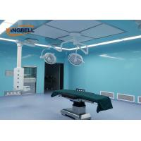 Quality Laboratory Modular Clean Room Glass Wall Plate Easy To Clean For Doctors And Nurses wholesale