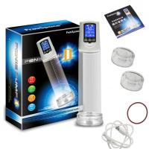 Quality OEM Blue LCD display penis enlargement vacuum pump electric penis pump wholesale