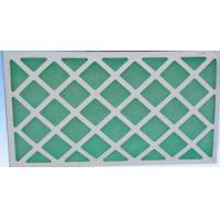 Quality Primary Air Filtration Filters , Flat Panel Fiberglass Air Filters For Hvac wholesale