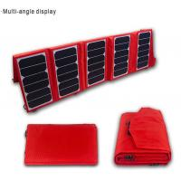 Quality 65W Portable Solar Panel Charger For Laptop ,  IntelligentSolar Charger wholesale