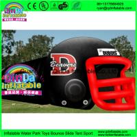 Quality Giant outdoor used inflatable sports tunnel inflatable football helmet tunnel tent wholesale