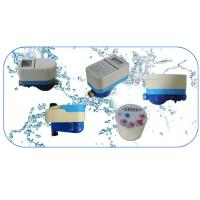 China HEXCELL Prepaid Water Meter , IC Card Digital Electrical Smart Water Meter on sale
