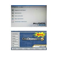 Quality Alldata 10.50 and Mitchell Ondemand5 2 in 1 Automotive Diagnostic Software wholesale