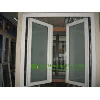 Cheap frosted glass white upvc casement window for for Eco friendly windows