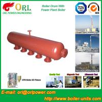 Quality Water Heat Boiler Mud Drum Anti Wind Single Type , Mud Drum In Boiler wholesale