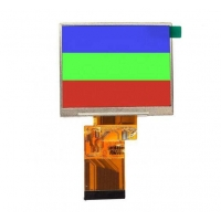 Quality 16.7M Color 250cd/M2 320X24 3.5 Inch Capacitive Touch Screen wholesale