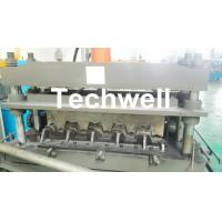 Quality 0.8-1.5mm Thickness Galvanized Steel Building Material High Speed Profile Deck Floor Cold Roll Forming Machine wholesale