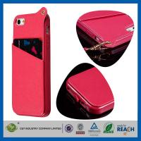 Quality PU Leather Apple Cell Phone Cases wholesale