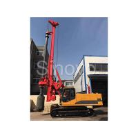 Cheap TR100 Rotary Hydraulic Drilling Rig 100 KN.M Self - Erecting Rig Electronic Control for sale