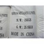 Quality Sodium metabisulphite wholesale
