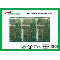 Quality PCB Design And Fabrication PCB Engineering 6 Layer Hard Gold Surface Treatment wholesale