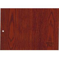 Quality Imitation Wooden Style Floor Tiles , 5mm Thick Bamboo Fiber Board For House wholesale
