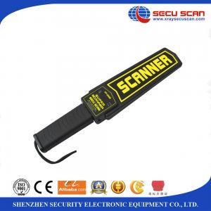 Quality Human Body Scanner Security Wand Metal Detectors AT-2008 Sensitivity Adjust Knob wholesale