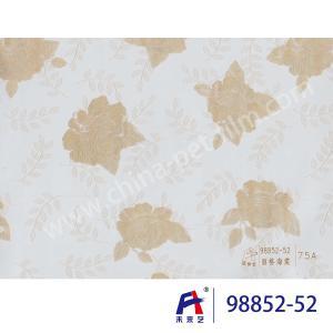 Quality PVC  Coating  Film    PVC Decorative Film  98852-52  Chinese flowering crabapple 0.12-0.14mm wholesale