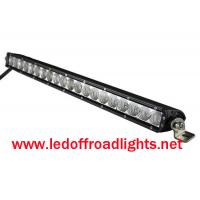 Quality 12V IP67 Single row 100W straight off road CREE LED light bar,led light bars for trucks wholesale