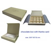 Quality new design 12pcs chocolate  packaging box wholesale