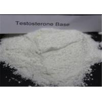 Quality Bodybuilding Testosterone Anabolic Steroid CAS 58-22-0 Testosterone Base Powder wholesale