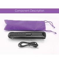 China Wireless Gift Rechargeable Hair Straighteners / Small Flat Iron With 3 Setting/USB charging/ on sale