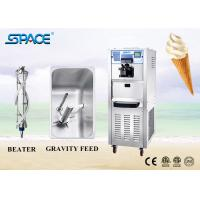 Table Top Three Flavors Aspera Frozen Yogurt Machine With Self Cleaning System