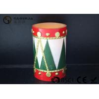 Quality Tree Shaped Christmas Led Candles With Timer Energy Saving 8*12cm wholesale