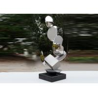 Quality Modern Stainless Steel Sculpture Highly Polished For Pool Decoration wholesale