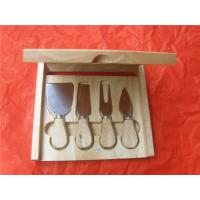Cheap Bottle Shape Cutting Board with Cheese Knife for sale