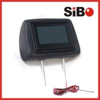 Quality Taxi Cab Geo Location Dependent Advertising Headrest Screen With Advertising Software and CMS Platform wholesale