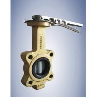 China wafer lugging Butterfly valve on sale