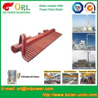 Quality ASME Standard Low Loss Header Boiler Parts / Boiler Steam Header Customization wholesale