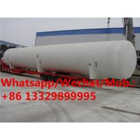 China HOT SALE! best price propane gas storage tanker, High quality and best price 100,000L surface lpg gas tanker for sale on sale