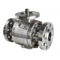 China Forged Trunnion Mounted Ball Valve Flanged Ends Buttwelding Ends on sale