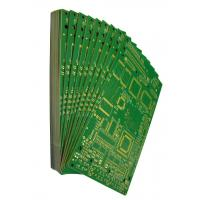 China Rigid Printed Circuit  Boards FR4 Material Green Solder Mask Surface Finishing Immersion Gold White Silkscreen on sale