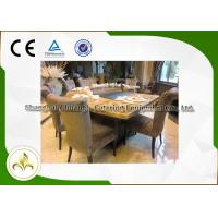Quality 9 Seats Induction / Electric Grill Griddle Table With Exhaustion System wholesale