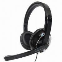 China Best gaming headsets/headphones, perfect for listening to music, online chatting or video games on sale