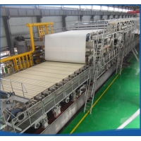 China Durable Kraft Paper Making Machine Two Floors Layout Craft Paper Mill Machinery on sale