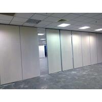 Quality Aluminum Sound Proofing Folding Partition Walls , Movable Sliding Office Doors wholesale