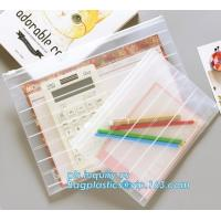 Quality Fashion Colored Mesh Office Stationery A4 Clear Folder with Zipper, Promotional Customize Logo A4 A5 pvc zipper document wholesale