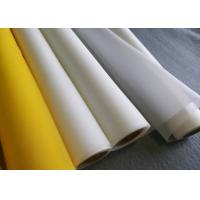 China 110 Polyester Silk Screen Printing Mesh Roll Most Width 3.06 Meters Plain Weave on sale