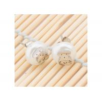 Quality Simple Style Trendy Jewelry Earrings , Unisex Imitation Pearl Stud Earrings wholesale