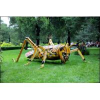 Quality Wind Proof Artificial Sculpture With Animatronic Insects For Long Life Technical Support wholesale