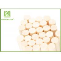 Quality Food Grade Drink Stir Sticks , Round Wooden Sticks For Crafts Well Polished wholesale