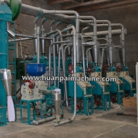 China 30tpd maize milling and packaging plant, sorghum milling machine, grain processing machine on sale