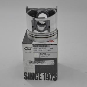 China Komatsu Excavator Spare Parts Engine Piston S6d95-6 Heavy Equipment Parts on sale