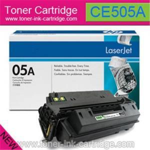 China Toner HP negro CE505A/CE505X original for HP LaserJet P2035 on sale