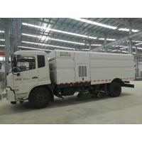 Quality Cummins 140HP Street Cleaner Truck , Road Washing Truck With Monitor wholesale