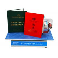 Quality AMD-8025 Custom Hot Foil Machine Foil Label Printer Machine For Book Covers / Dated Items wholesale
