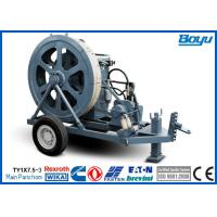 Quality Fiber Cable Stringing Equipment Overhead Transmission Line Stringing Machine Puller wholesale