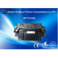 Quality Zhuhai Hot selling Compatible Black Toner Cartridge For  HP 92298A/X wholesale